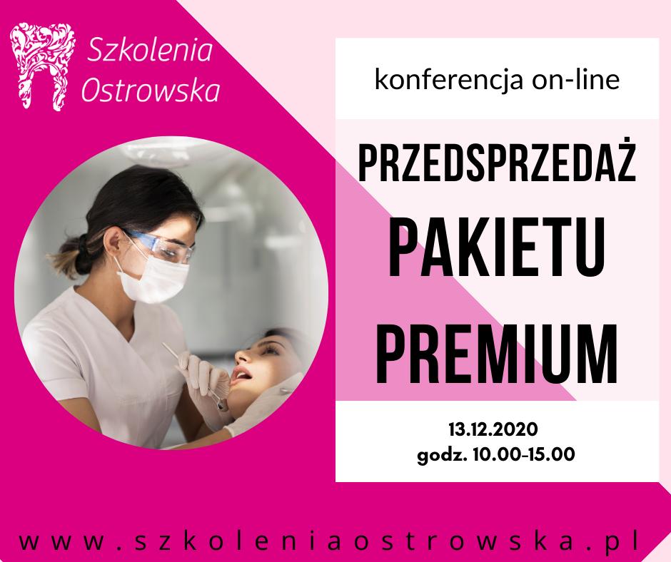 Pakiet PREMIUM – przedsprzedaż